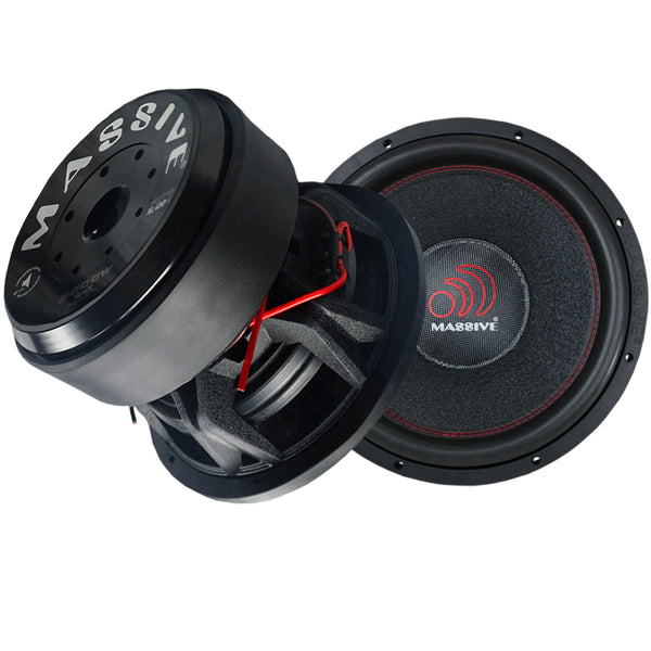 "HIPPOXL122R - 12"" 3000 Watts RMS Dual 2 Ohm 4"" V.C. Mega Subwoofer"