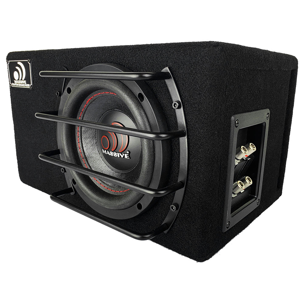 "BG8 - 8"" Pre-Loaded 400 Watt RMS 2-Ohm Subwoofer in Ported Enclosure"
