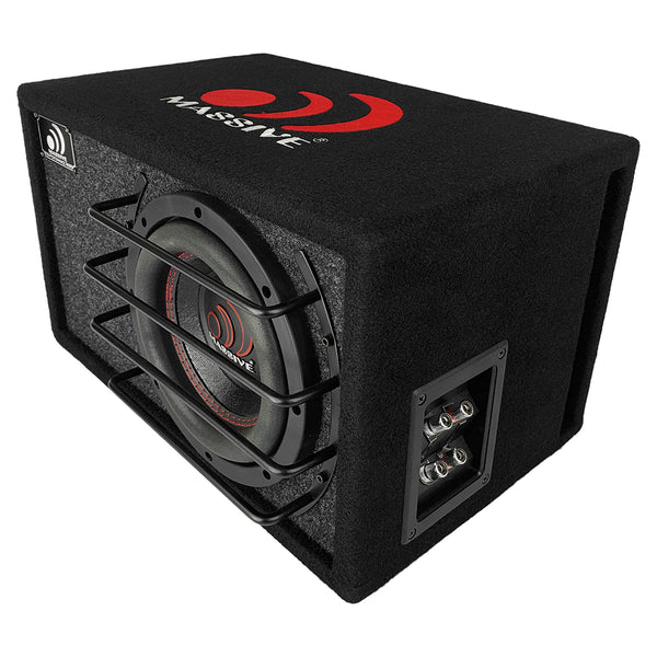 "BG6 - 6.5"" Pre-Loaded 250 Watt RMS 2-Ohm Subwoofer in Ported Enclosure"