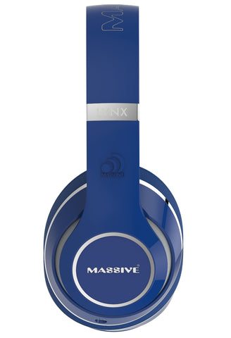 MASSIVE Blue Wired Headphones
