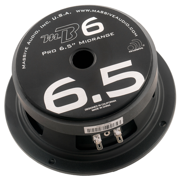 "MB6 - 6.5"" 150 Watt 4 Ohm Mid-Bass Speaker"