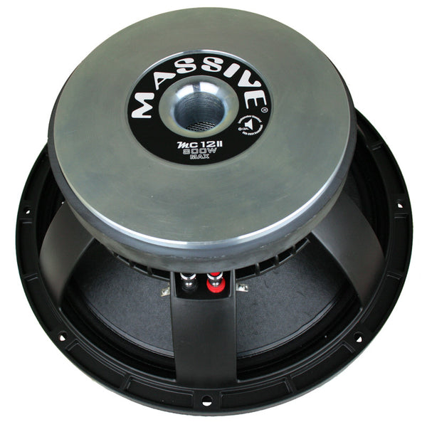 "MC12II - 12"" 400 Watt 8 Ohm Mid-Range Speaker Cast Basket"