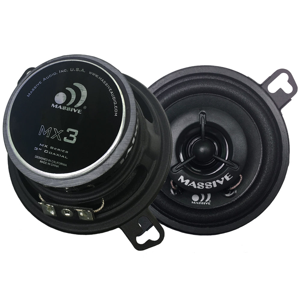 "MX3 - 3.5"" Coaxial Speakers"