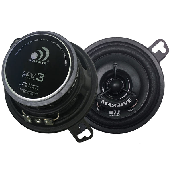 "MX3 - 3.5"" 2-Way 30 Watts RMS Coaxial Speakers"