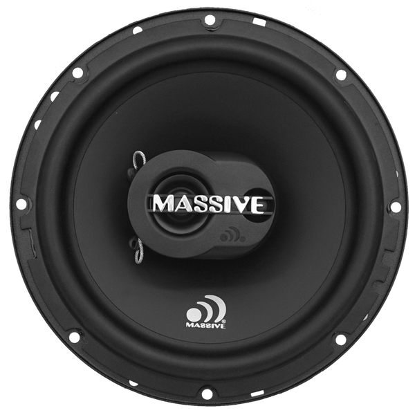 "MX65S - 6.5"" 2-Way 60 Watts RMS Shallow Coaxial Speakers"