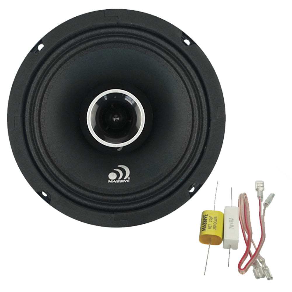 "P65X - 6.5"" 2-Way 120 Watts RMS Coaxial Pro Audio Speakers"