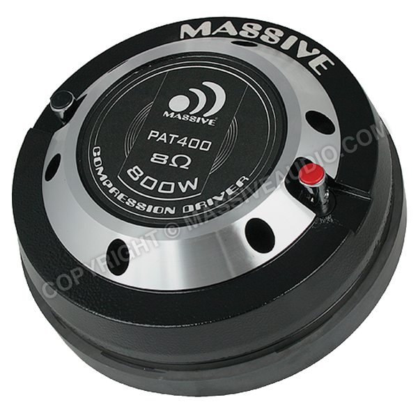 "PAT 400 - 2"" Bolt-On 400 Watt 8 Ohm Compression Driver"