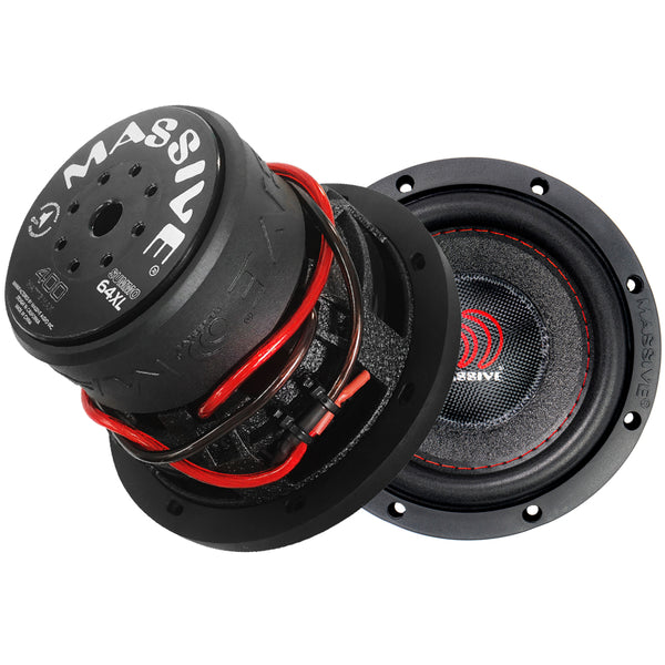 "SUMMO64XL - 6.5"" 150 Watts RMS Single 4 Ohm, 1.5"" V.C. Subwoofer"