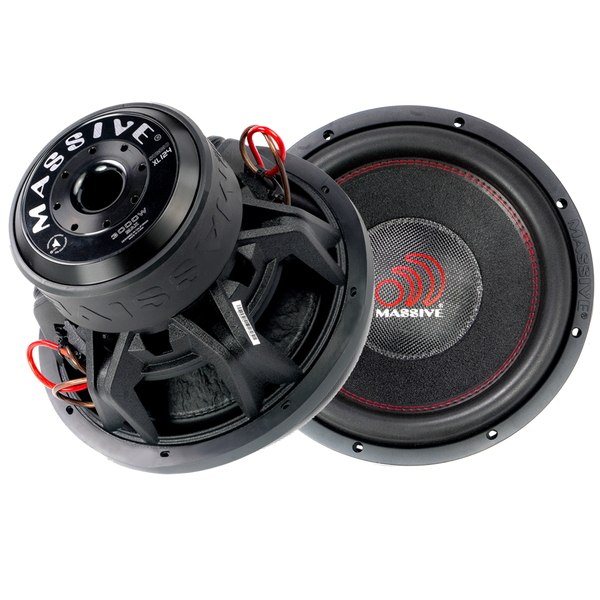 "SUMMOXL124 - 12"" 1500 Watts RMS Dual 4 Ohm Subwoofer"