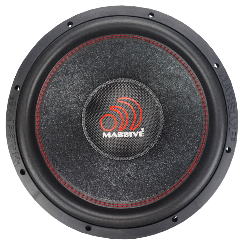 "SUMMOXL154 - 15"" 1500 Watts RMS Dual 4 Ohm Subwoofer"