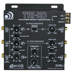TRI-XO - 3 Way Electronic Crossover 18dB
