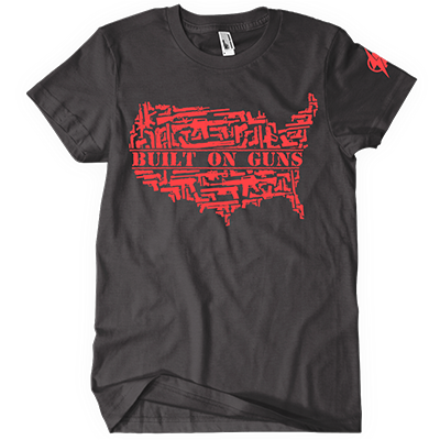 Built on Guns Package - Shirt and Hat plus FREE GIFTS