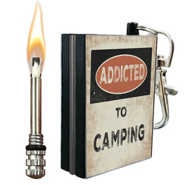 addicted to camping fire starter metal match