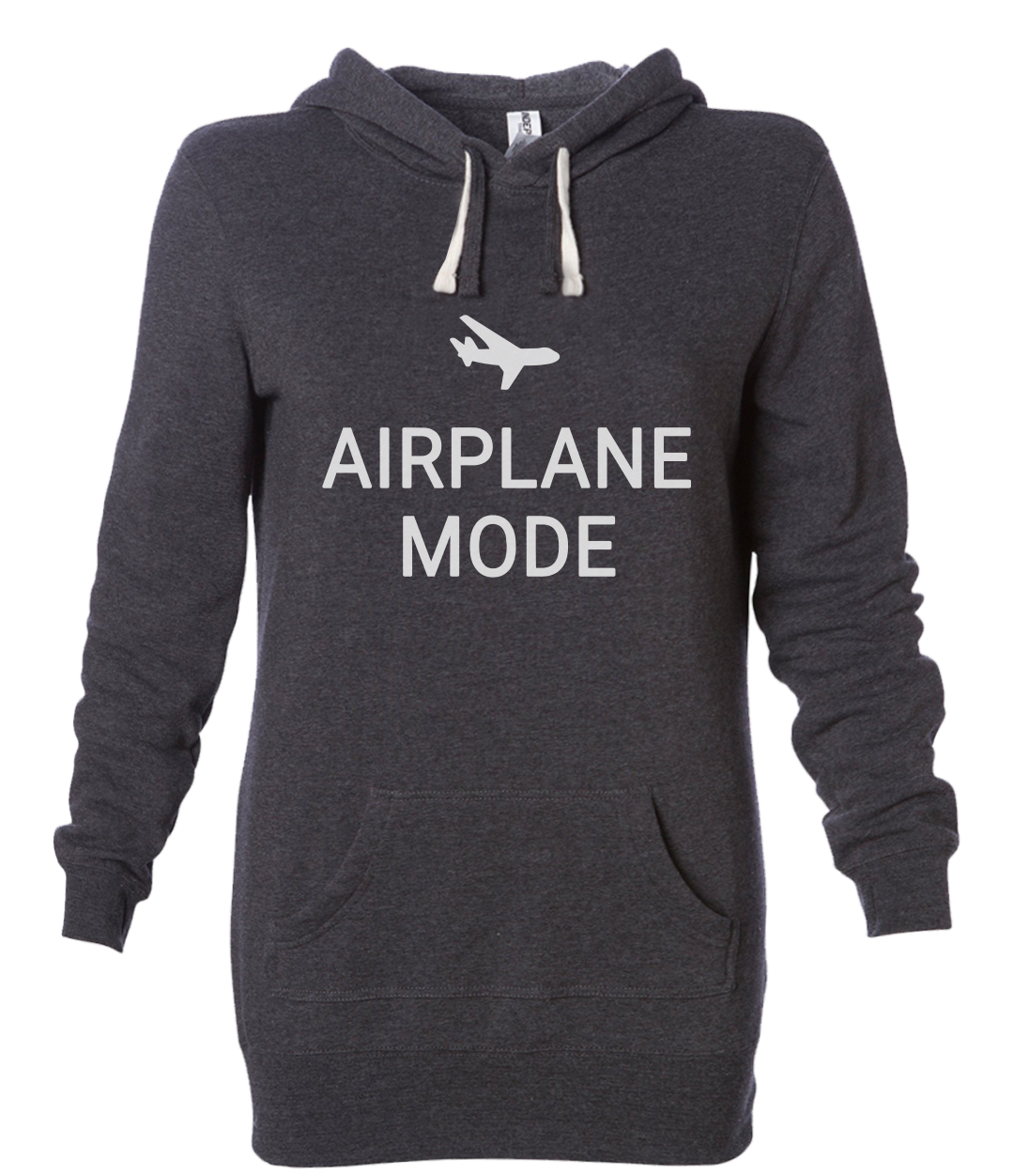 airplane mode hoodie dress carbon