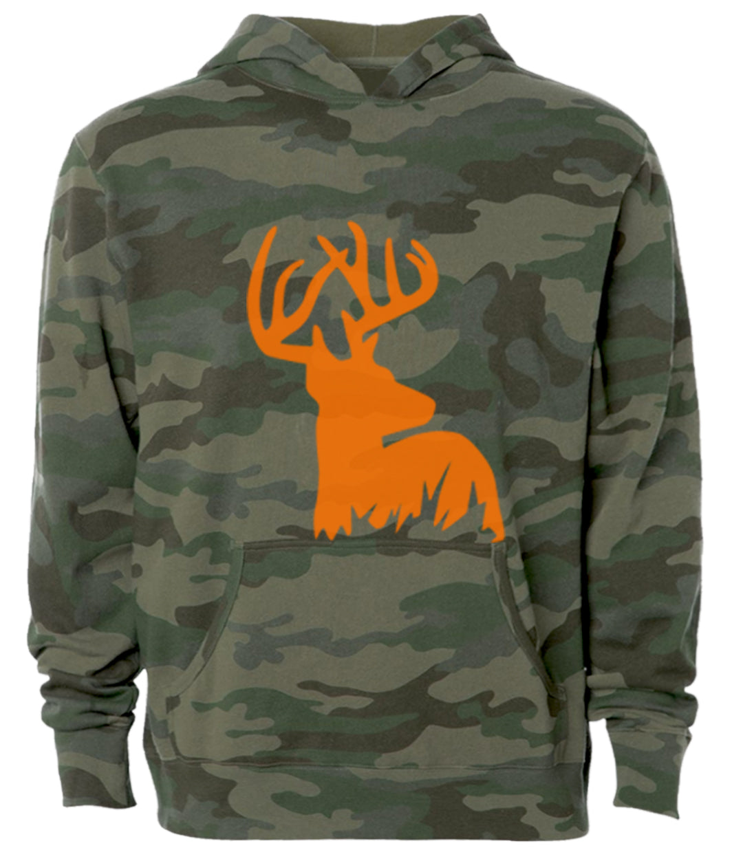 antlers army camo hoodie
