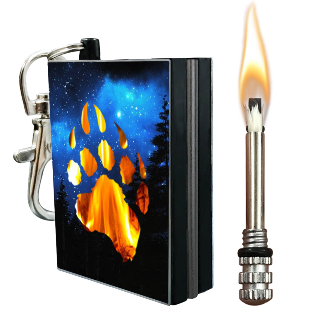 bear paw permanent match fire starter