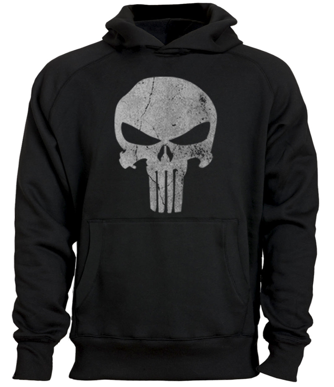 punisher hoodie black tactical gear