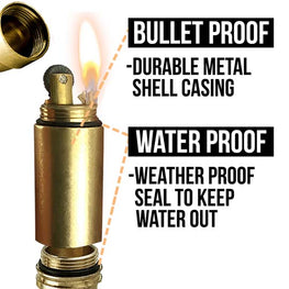 bullet lighter waterproof specs and all weather durability