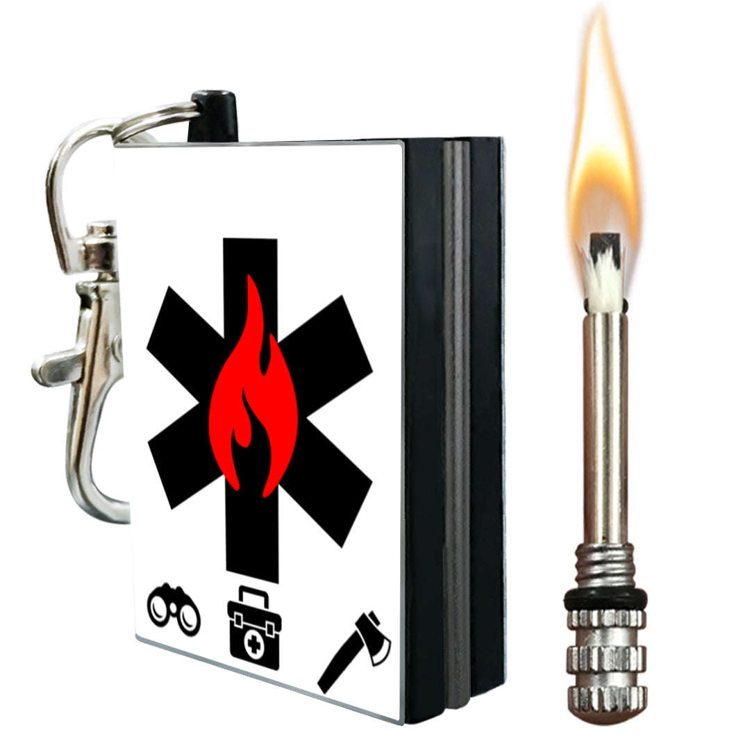 emergency fire starter metal match
