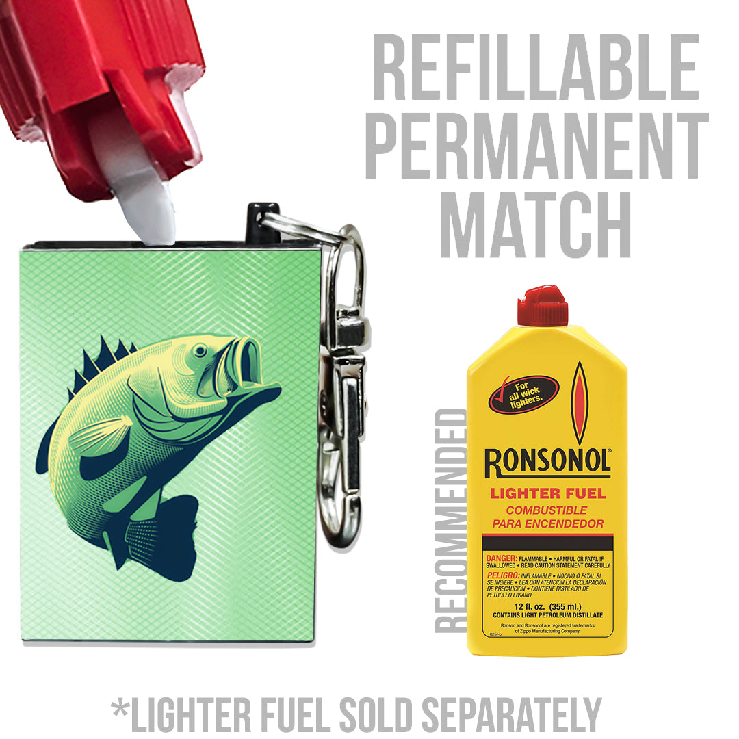 fishing accessories refillable lighter