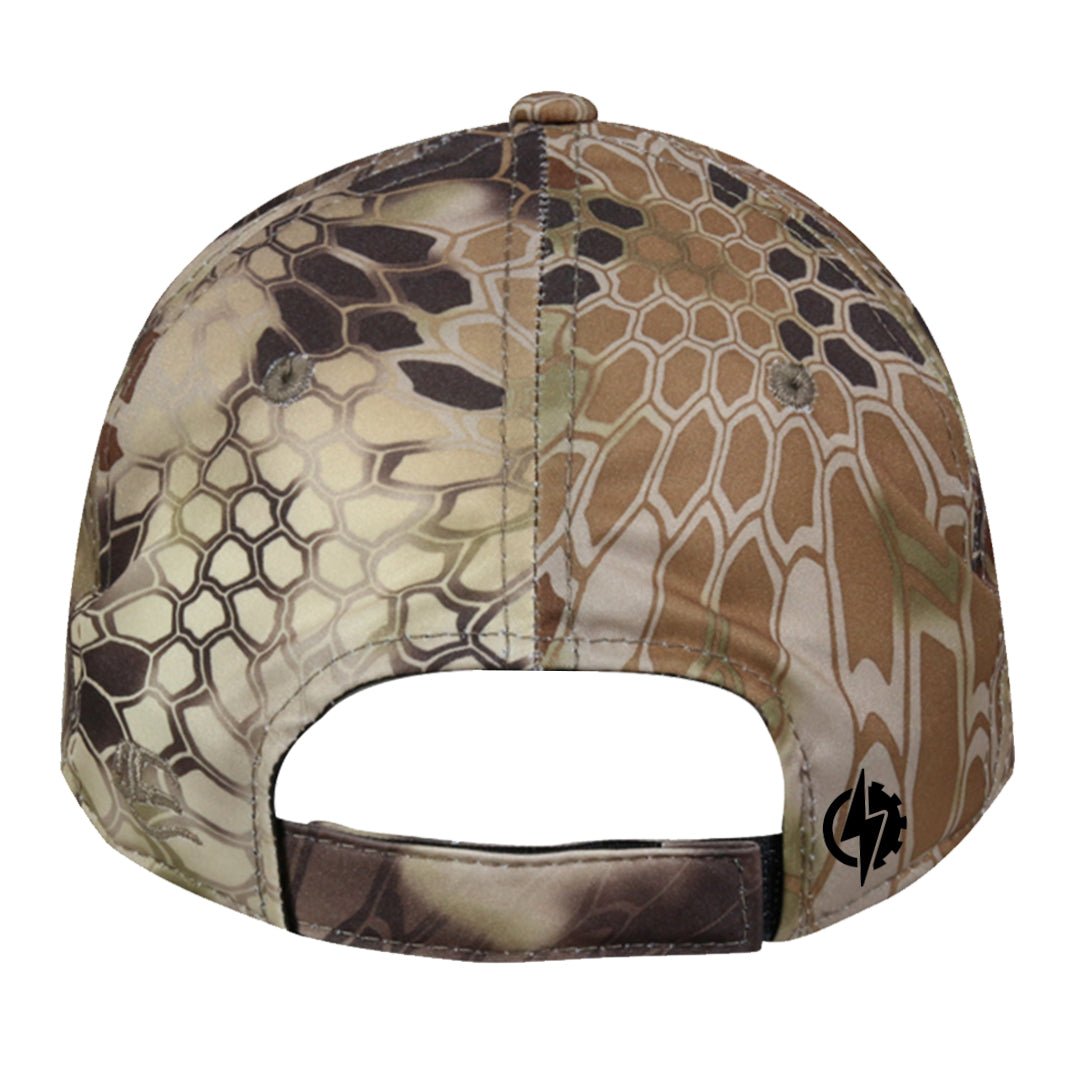 punisher cap kryptek camo