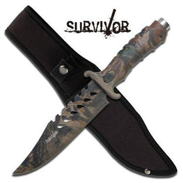 survivor knife with sheath
