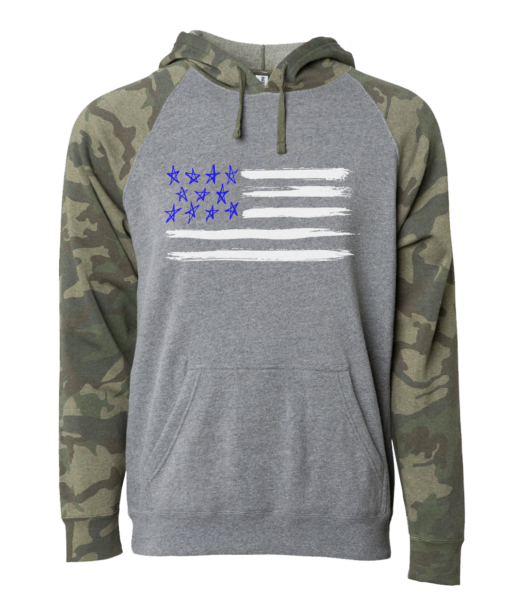 Stars and Stripes Hoodie Sweatshirt