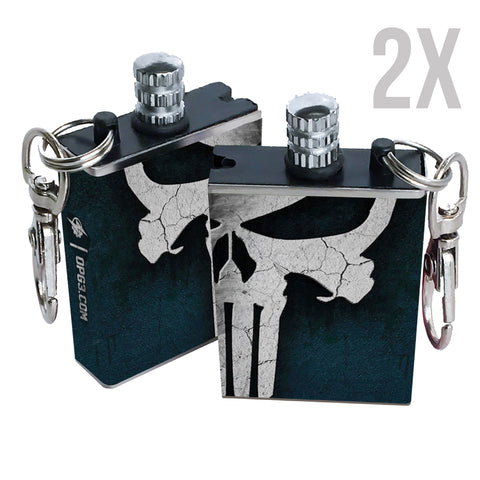 punisher permanent match fire starter 2 pack