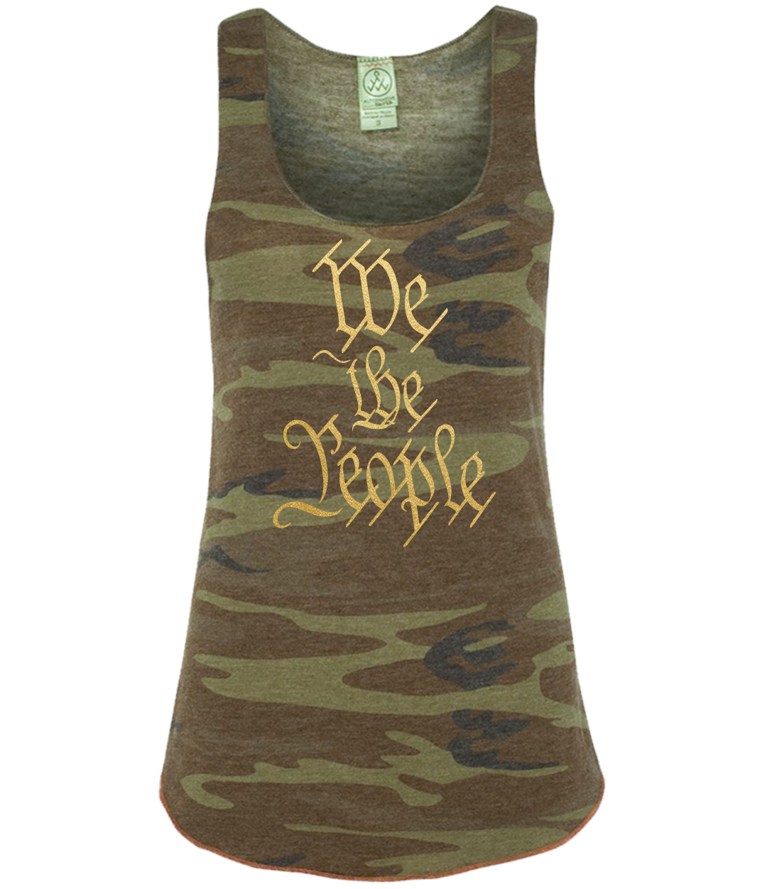 we the people camo tank top