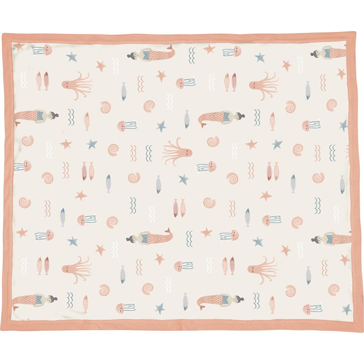 Baby Blanket Under the Sea Pink #1239