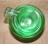 Green Glass Measuring Cups Set of 4 # 527G