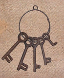 Cast Iron Jailers Keys #209