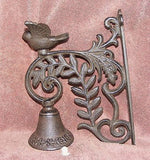 Cast Iron Bird Bell  #109