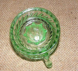 Green Juicer Reamer Reproduction Depression Glass # 514G