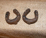 Horseshoe Drawer Pulls Cast Iron Western Rustic Knob #212
