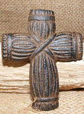 Cast Iron Mini Cross Nail Christian Crucifix Country Rustic Decor Primitive #211