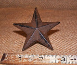 Cast Iron Star Nail  #123