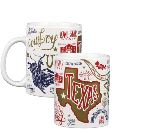 Texas Coffee Mug 20oz #775