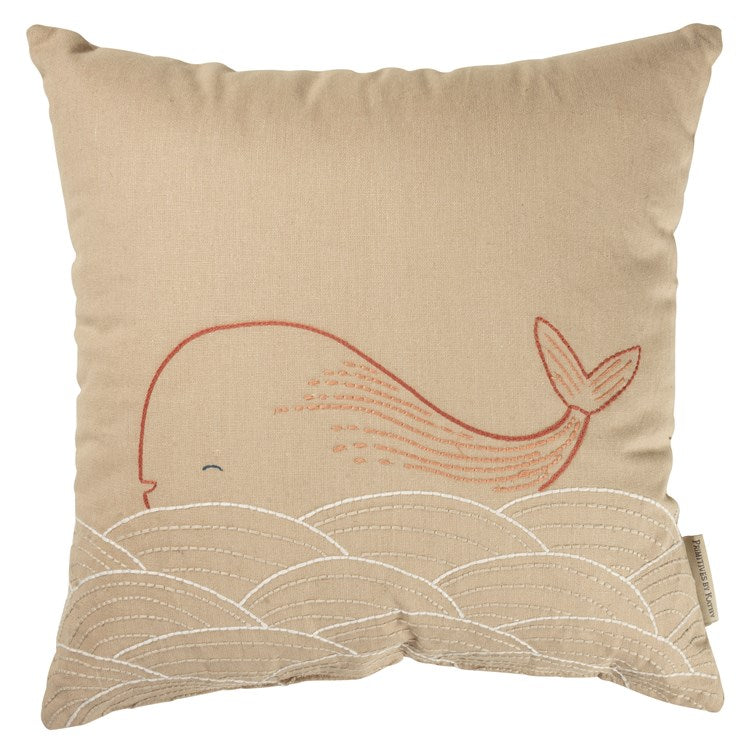 Baby Infant Pillow Whale Pink #1418