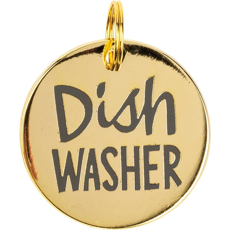 "Pet Collar Charm ""Dishwasher"" #1286"