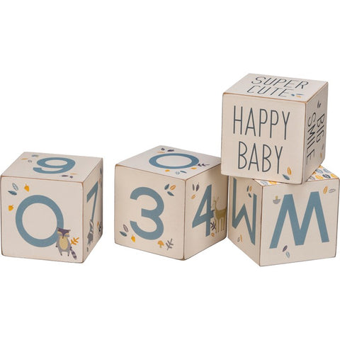 Baby Infant Milestone Blocks for Photos #1413