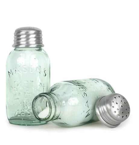 Salt and Pepper Shakers Mini Mason Jar #800-99