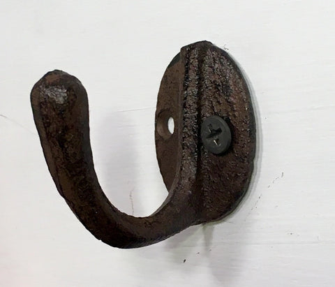 Cast Iron Hook Hanger for Jewelry or Keys #220