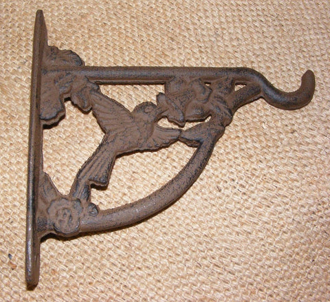 Cast Iron Hummingbird Plant Hanger #125