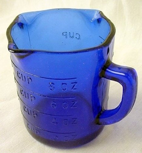 Cobalt Blue Measuring Cup # 515C