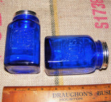 Cobalt Salt and Pepper Shakers # 504C
