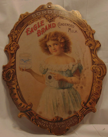 Eagle Brand Paper Antique Reproduction Advertising Sign #545