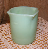 Jadeite Measuring Cup Reproduction Depression Glass # 515J