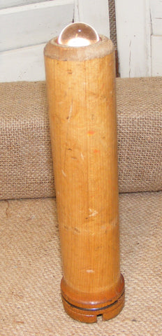 Antique Wooden Bobbin Kaleidoscope #907