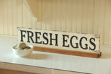 Fresh Eggs Wooden Sign for Chicken Lovers! #800-37